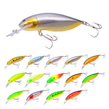 New type of bait, various colors, squid crank 125mm 12.5g, bait boxed quality fishing