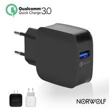 Топ QC 3.0 USB WALL Зарядное устройство Quick Charge 3.0 2.0 ЕС США Разъем для iPhone Samsung Xiaomi MI5 VIVO телефон fast Travel Зарядное устройство 18 Вт 5 9