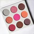 NEW Eyeshadow Palette 9 Color In 1 BURGUNDY PALETTE Make Up Cosmetics Matte Eyeshadow Eye Shadow Palette By Kyshadow Kit