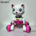 Robô de Brinquedo Do Gato Gato Brinquedos Eletrônicos Para Crianças Brinquedo De Controle de Voz Pet Elétrica Programa Robô Dança Luz Caminhada Multi Função