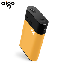 Aigo QC01 10000mAh Power Bank Quick Charge Smart Powerbank 3.63V 18W Portable Charger for iPhone Mobile Phone External Batteries