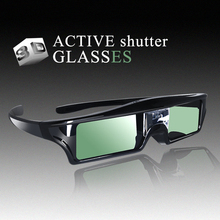 3D Active Shutter Glasses DLP-LINK DLP LINK 3D  glasses for Optoma Sharp LG Acer BenQ w1070 Projectors 3D glasses dlp link