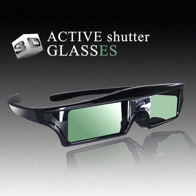 3D Active Shutter Glasses DLP-LINK DLP LINK 3D  glasses for Optoma Sharp LG Acer BenQ w1070 Projectors 3D glasses dlp link