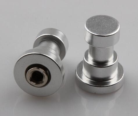 100 Pieces Camera Flash Light Stand Adapter Metal Screw 1/4 & 3/8 Screw for Tripod Mount Photo Studio Accessories