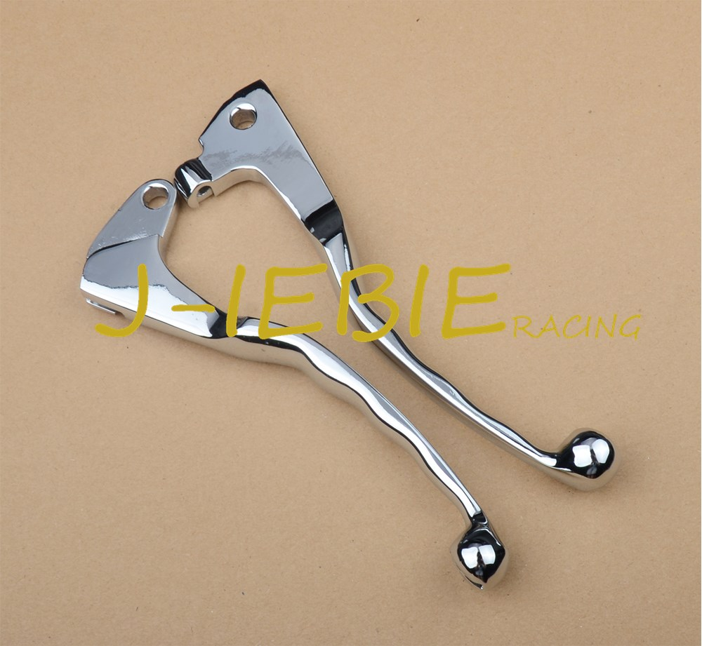 Chrome Brake Clutch Levers for Yamaha Virago XV 250 535 700 750 1000 1100 XV250 XV535 XV700 XV750 XV1000 XV1100