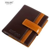 RFID Blocking Women Wallet Cowhide Wallet Genuine Leather Women Trifold Wallet Short Design Fashion Coin Wallet