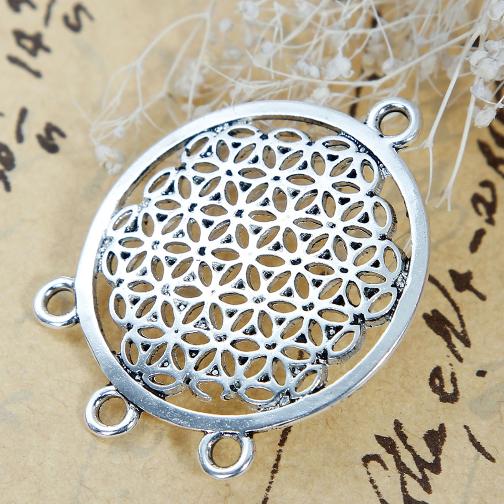 doreenbeads-alloy-flower-of-life-connectors-findings-round-antique-silver-color-37mmfontb1-b-font-fo