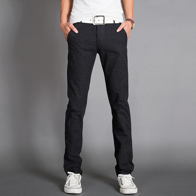 2017 Nuevo Pantalon Homme ejercicio Ejército Pantalones de Los Hombres, Casual Mens Joggers Hitz Versión Coreana De La Tendencia de Los Hombres Delgados Pantalones de Algodón