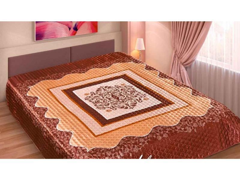 Bedspread euro-Maxi Marianna, Silk 3D, Marco, 230*250 cm bedspread ethel silk lace size 180 220 cm faux silk 100% n e