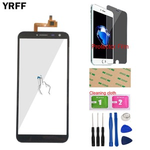 Image 1 - Smartphone מסך מגע עבור Dexp Ixion G155 Dexp G155 מגע מסך מגע Digitizer פנל נייד קדמי זכוכית חיישן מגן סרט