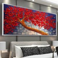 Youran Full Round 5D DIY Diamond Painting Flower Tree Hand Paint Oil Painting Diamond Embroidery Cross Stitch Rhinestone Mosaic