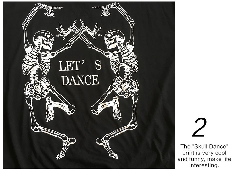 HTB1hcMXRFXXXXXoXXXXq6xXFXXXr - Skeleton T Shirt Women Sexy Off The Shoulder Tops T-shirt