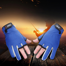 Three Fingers Cut Sports Half FingerMen and women fashion Outdoor Non-slip fishing gloves  Fishing Protective