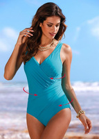 Solid One Piece Women Swimwear V Neck Maternity Swimsuits Plus Size Pregnant Women Bathing Suits Maternity