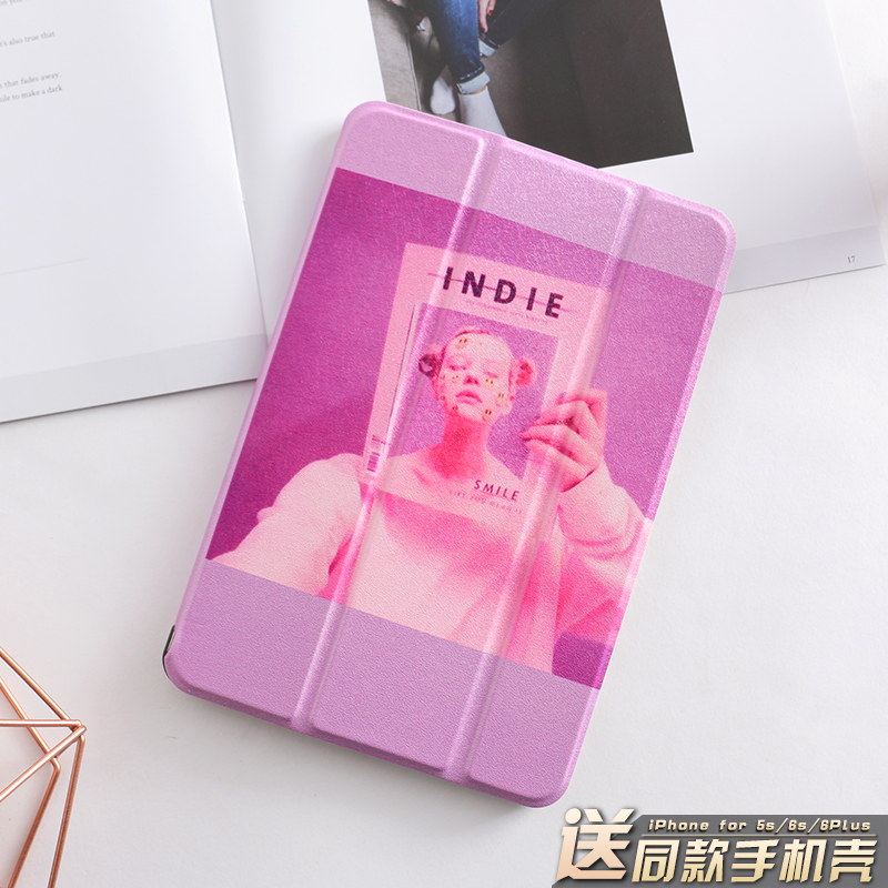 Purple Pink Magnet PU Leather Case Flip Cover For iPad Pro 9.7 10.5 Air Air2 Mini 1 2 3 4 Tablet Case For New ipad 9.7 2017 mimiatrend tige for apple ipad air 1 2 air2 flip pu leather case smart cover for new ipad 9 7 2017 tablet case for ipad pro 9 7