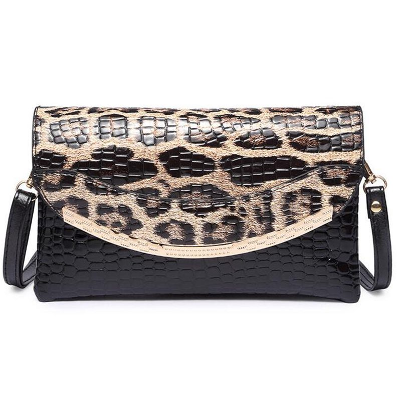 Female Handbag Designers 2017 Fashion Women Shoulder Bags Small Messenger Bag Leopard Printing Crossbody Envelope Bags S-361 asus asus zenbook ux303ub 13 3 4гб ssd wi fi bluetooth intel core i5