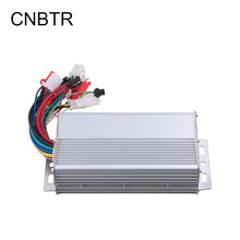 CNBTR Aluminium Slivery 48V 500W Electrocar Brushless Electric Motor Controller Electric Bike Brushless Motor for Electric Scoot(China)
