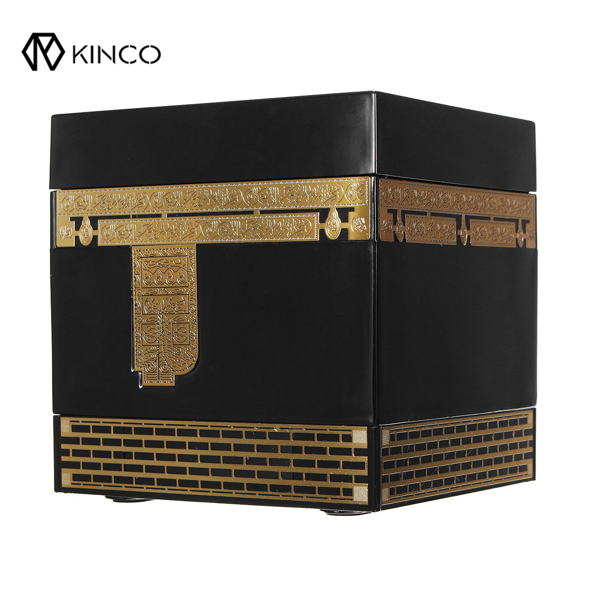KINCO Wireless Remote Control Quran Bluetooth Speaker Portable MP3 FM Radio Speaker with 24 Languages digital quran lamp with azan clock colorful led light quran player fm radio quran free download english italian translator