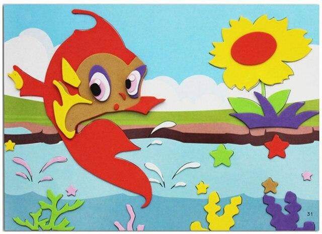 Children Puzzle Foam Sheet Paper Clipart Art Works Eva Sponge Kids