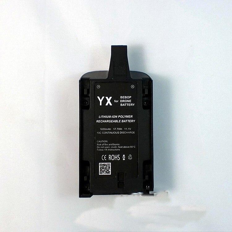 2 STÜCKE 1600 mAH Li-Po Leistungsstarke Batterie Batterien für Parrot Bebop Drone...