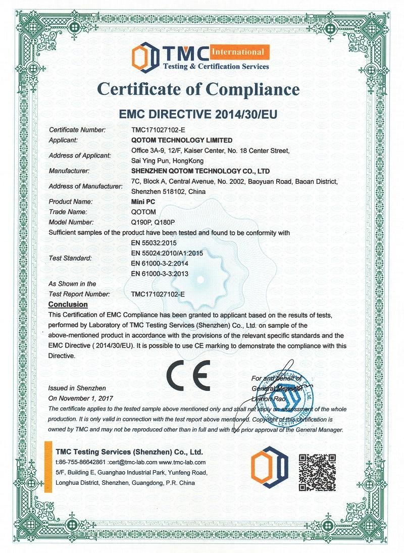 Q190P EMC
