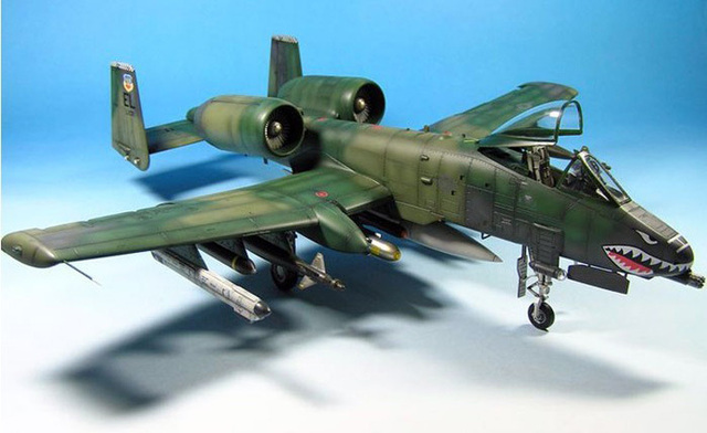US $59 0 |1:48 Scale A 10 Thunderbolt II Trumpeter 1/48 U S  military  aircraft model A 10 A lightning strike II warthog single seat-in Model  Building