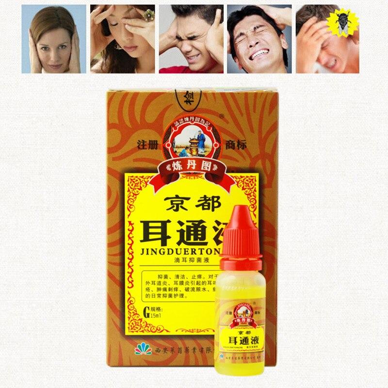 Baru Telinga Otitis Akut Tetes Obat Herbal Cina Untuk Telinga Tinnitus Tuli Sakit Vf Harga Promosi Perawatan Telinga Aliexpress