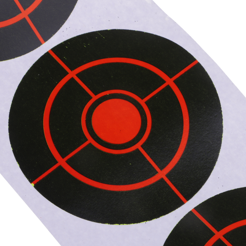 250pcs 3' Reactive Splatter Targets See Your Hits Instantly Archery Hunting Accessories For Shooting Indoors Or Outdoors