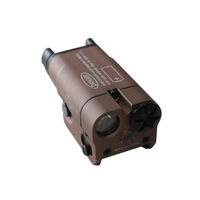 Tactical XC2 Laser Light Compact Pistol Flashlight With Red Dot Laser LED MINI White Light 200 Lumens Airsoft Flashlight