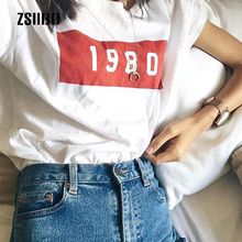 Zoubuk summer top nail polish Elastic Basic vogue T shirts femme maiden Casual tshirt