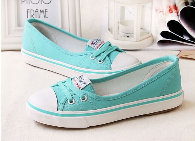 Comfortable All Match Canvas Shoes Sneakers For Women Small Fresh