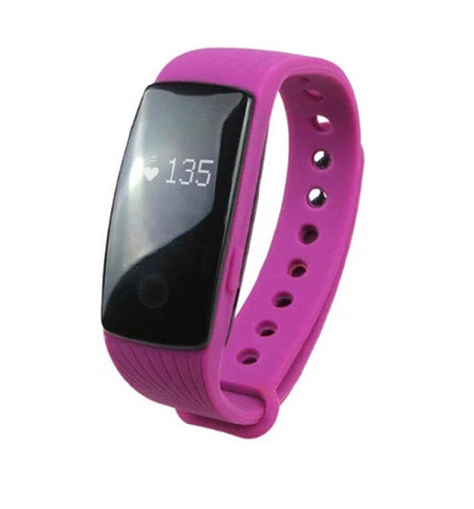 2016 New Original Smart Wristband ZS107 Smart Band Bracelet Heart Rate Monitor Activity Fitness Tracker Wristband