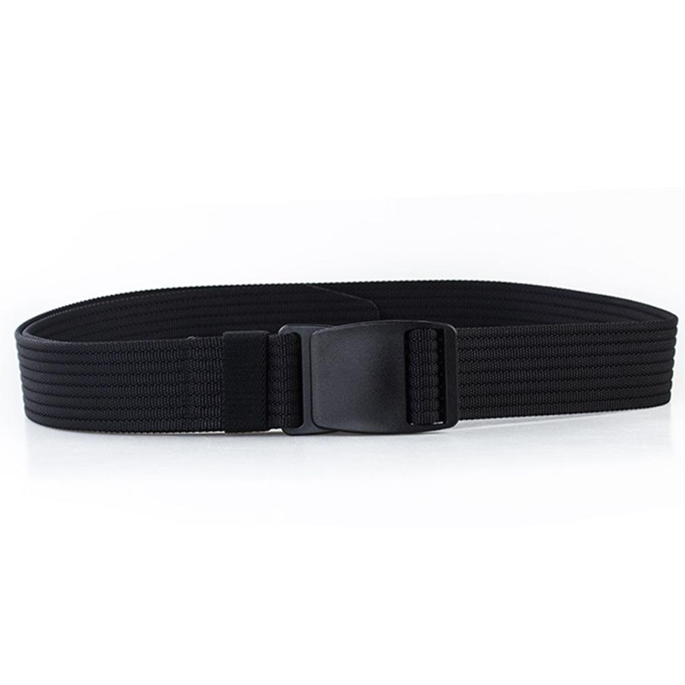 CUKUP 2018 New Design Unisex No Metal Plastic Steel POM Buckle Belt Quality Canvas Elastic Belts Leisure for Men Colours CBCK121 in Men 39 s Belts from Apparel Accessories