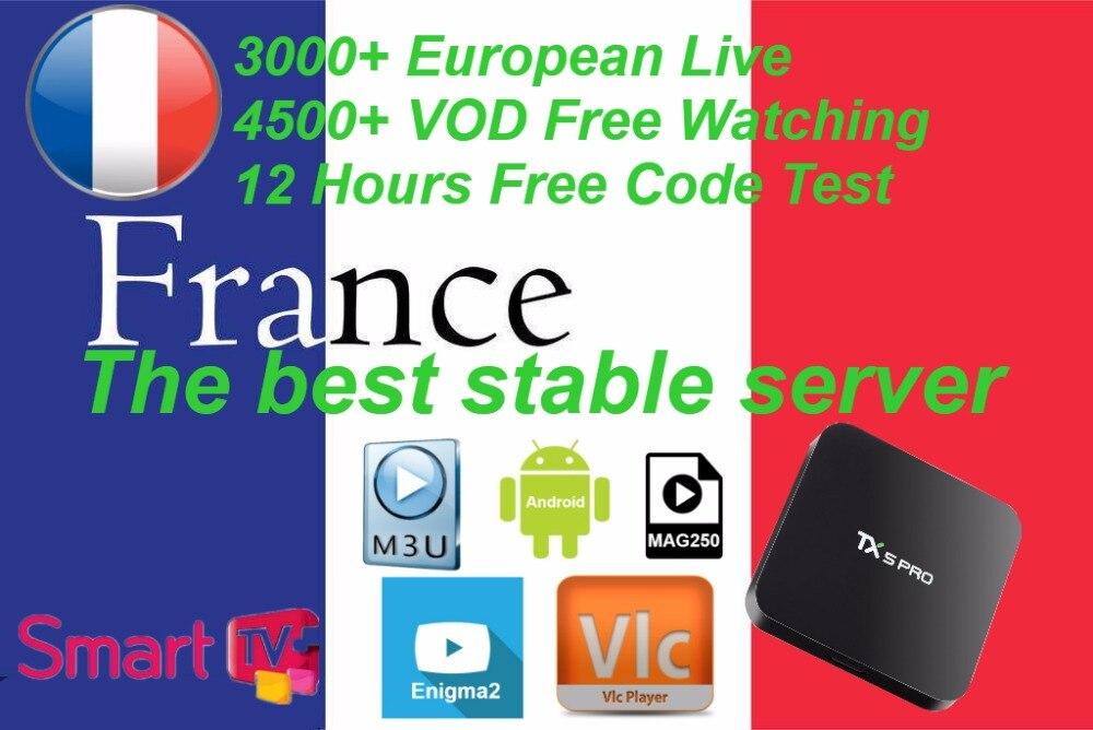 Android Smart TV Box mit 1000 + Kanal Europa Arabisch Französisch Belgien IPTV abonnement LEADTV für M3U APK Frankreich Belgischen arabisch