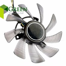 EVERFLOW T129215SU 3X 39mm Hole Pitch 85X10MM Fan For ASUS GTX460 HD6790 HD6870  Graphics Card fan blade 12V 0.5A