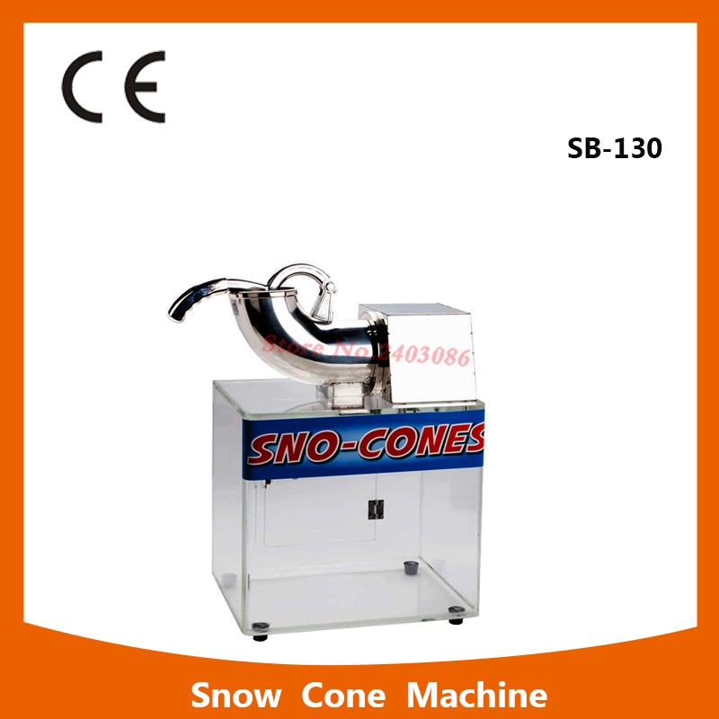 SB-130  countertop crushed ice maker machine price 110V 220V ice crusher blender for espresso coffee machine for commercial use high quality manual household use commercial snow ice crusher ice machine ice maker professional practical machine free shipping