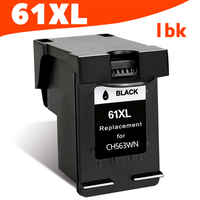 1BK 61XL Ink Cartridge for HP 61 XL cartridge for HP dj 1000 1010 1050 1510 2000 2050 2510 3000 3050 3052 Envy 4500 FULL INK