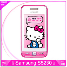 100% Original Samsung S5230 Unlocked 3.0 inch Touch screen 2MP Camera Cell Phones in stock Free Shipping