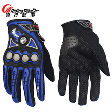 Motorcycle Gloves Protective Full finger Gloves ATV MTB Moto Racing Motorbike Motocross Motor Riding Cycling glove