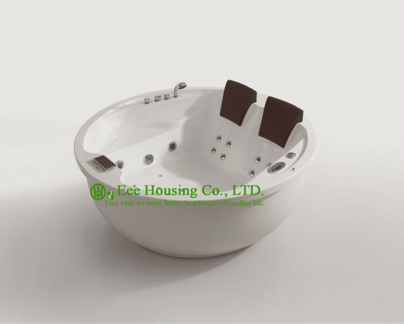 Massage Bathtub High Quality Acrylic Freestanding Fit Dimensions Cheap Round Bathtub