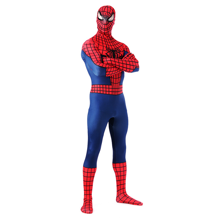 Men Unisex Carnival Clothing The Avengers Spiderman Cosplay Lycra Zentai Costume Tights Adult Halloween Party Muscles Jumpsuits in Zentai from Novelty Special Use