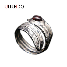 wellmade solid sterling silver square ring silver signet ring Pure 925 Sterling Silver Jewelry Takahashi Goros Rings Eagle Feathers Opening Ring For Women Birthday Gift Mens Signet Ring 164