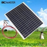 Portable Efficiency Travel Energy Solar Panel DIY Battery Charger USB 12V 20W For Power Bank Supply