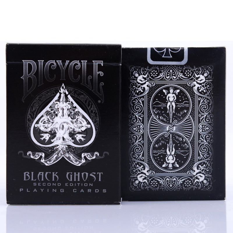 Ellusionist Bicycle Black Ghost Playing Cards Original Poker Cards for Magician Collection Card Game