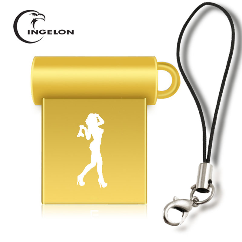 Usb Flash Drives Ingelon Metal Thumb Drive 32gb Usb Flash Drive 32 Gb Mini Pendrive Dj Custom Diy Unicorn Starwars Dropshipping 2018 Memory Stick An Indispensable Sovereign Remedy For Home External Storage