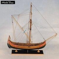 Деревянный корабль модели Наборы образования детей, игры DIY модель лодки деревянные Весы 1/48 3d лазерная резка Marmara торговля лодка модель дере