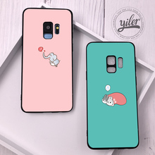 Pink Rabbit Coque For Samsung Galaxy S10e Case Cute for S9 Plus Cases S10 S8 S7