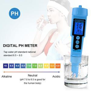 Image 5 - 新 3 で 1 pH ORP 温度計水検出器マルチパラメータデジタルトライメーター水質モニターテスター
