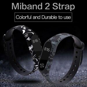 Image 2 - Hotsale mi2 wrist strap Smart Accessories For xiaomi mi2  Mi Band 2 Strap Silicone Bracelet replacement for Xiaomi mi2 band