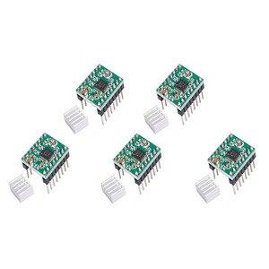 Image 5 - Kit de impresora 3D CNC para Arduino Mega 2560 R3 + controlador rampas 1,4 + LCD 12864 + 6 interruptor de límite Endstop + 5 controlador paso a paso A4988